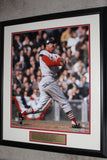 Stan Musial Autographed & Framed 16x20 Photo, MLB & Mounted Memories - Vintage Indy Sports