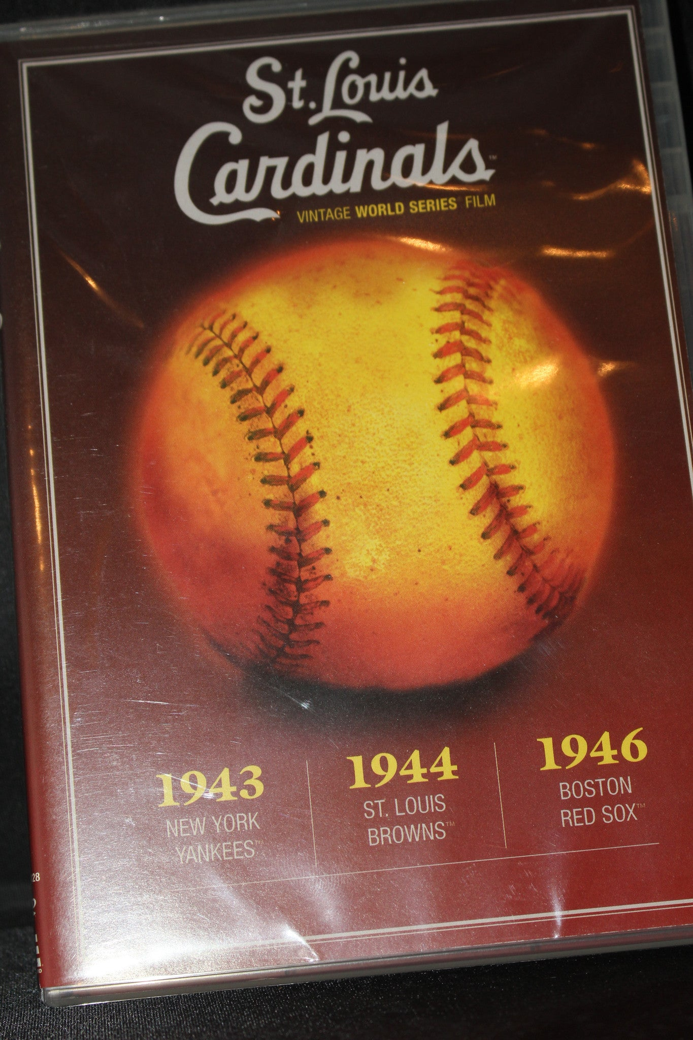 St. Louis Cardinals 1943, 1944 & 1946 World Series DVD - Vintage Indy Sports