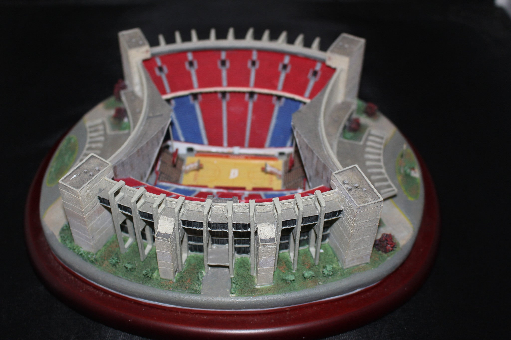 Indiana University Assembly Hall Danbury Mint Replica - Vintage Indy Sports