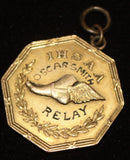 1921 Indiana High School Track & Field Relay Championship Medal - Vintage Indy Sports