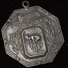 1920's Indiana High School Track & Field State Championship Medal - Vintage Indy Sports