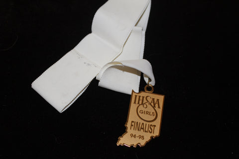 1994-95 Indiana High School Girls Golf State Finalist 3rd Place Medal