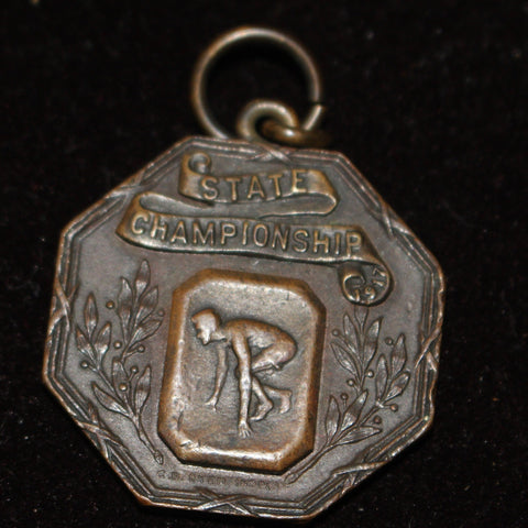 1917 Indiana High School Track & Field State Champions Medal