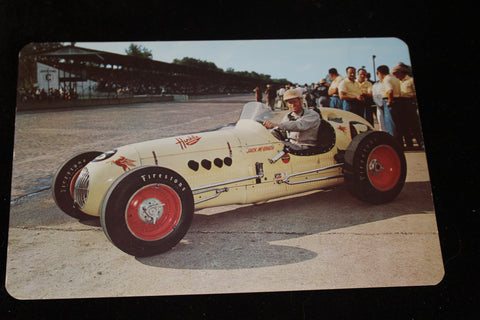 1954 Jack McGrath Indy 500 6x9 Postcard