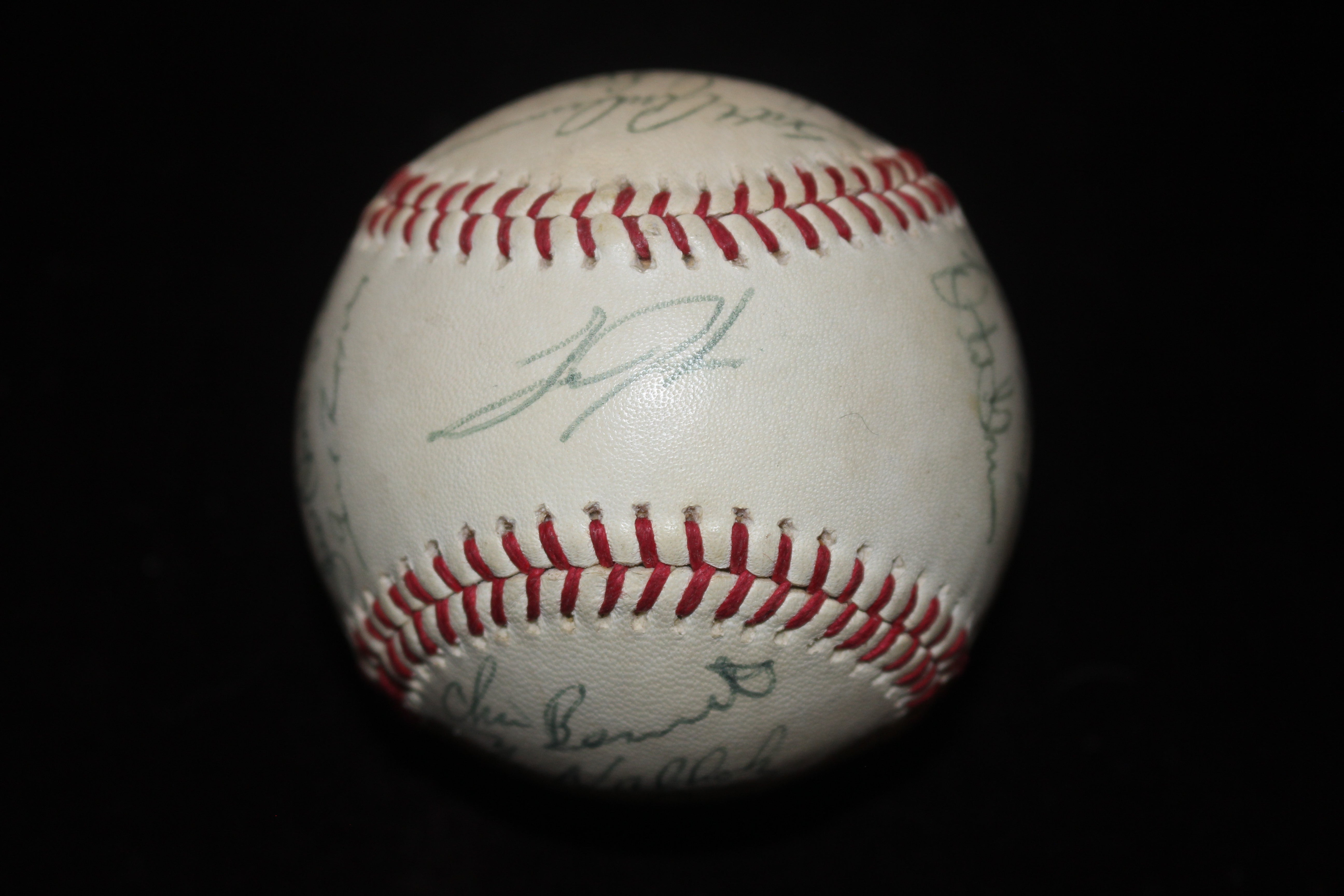 1990 Indianapolis Indians Team Signed American Association Baseball