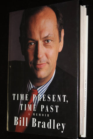 Bill Bradley Autographed Book Time Present, Time Past