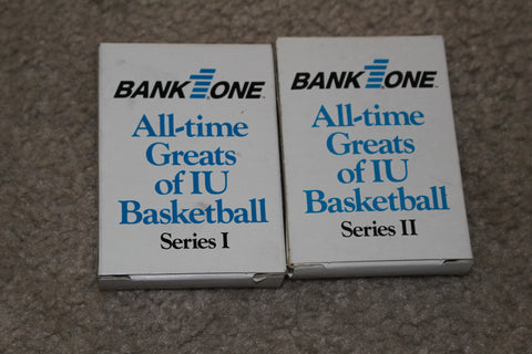 Indiana University All Time Greats Card Sets I & 11
