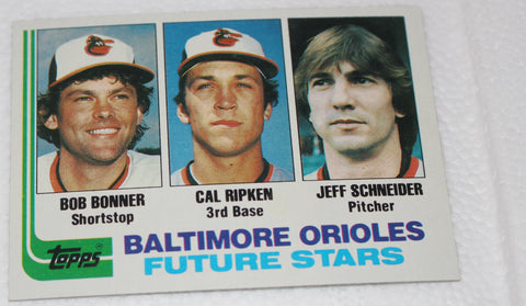 1982 Topps Cal Ripken Jr. Rookie Baseball Card #21