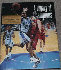 A Legacy of Champions University of Kentucky Autographed Book