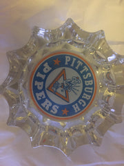 1960's Pittsburgh Pipers ABA Basketball Ash Tray - Vintage Indy Sports