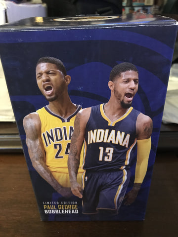 Paul George Indiana Pacers SGA Bobblehead, New in Box!