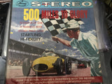 500 Miles to Glory LP Record - Vintage Indy Sports