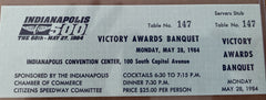 1984 Indianapolis 500 Victory Awards Banquet Ticket