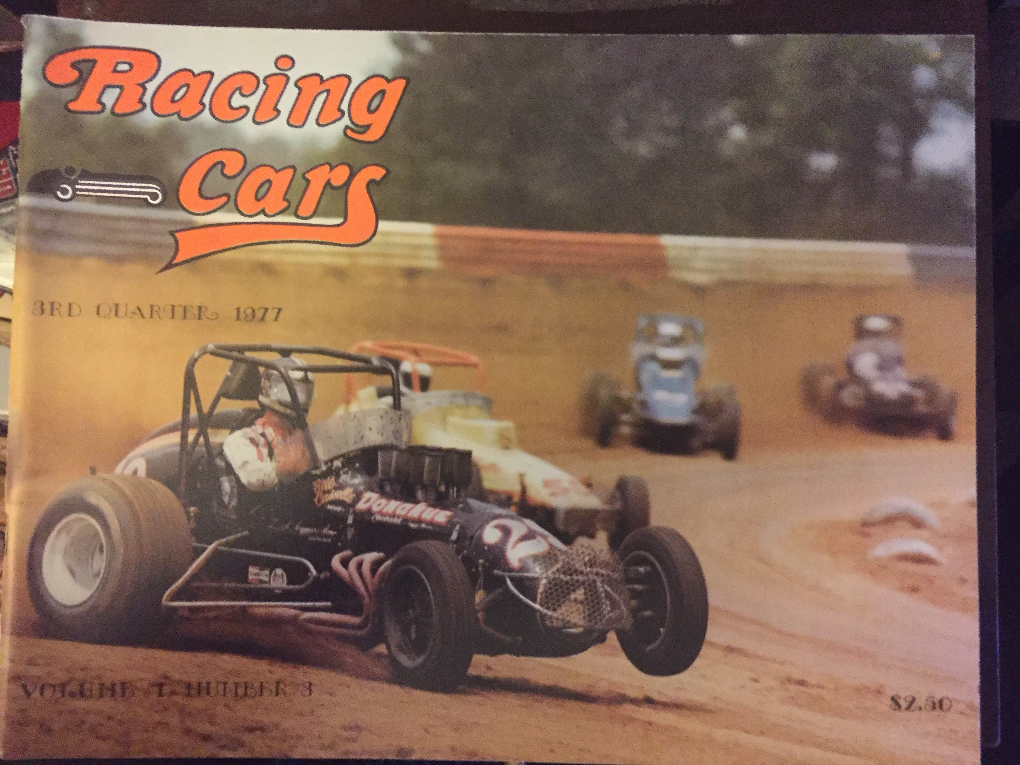 Racing Cars Magazine 3rd Quarter 1977 - Vintage Indy Sports