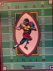 1990 Indiana High School Football State Finals Program