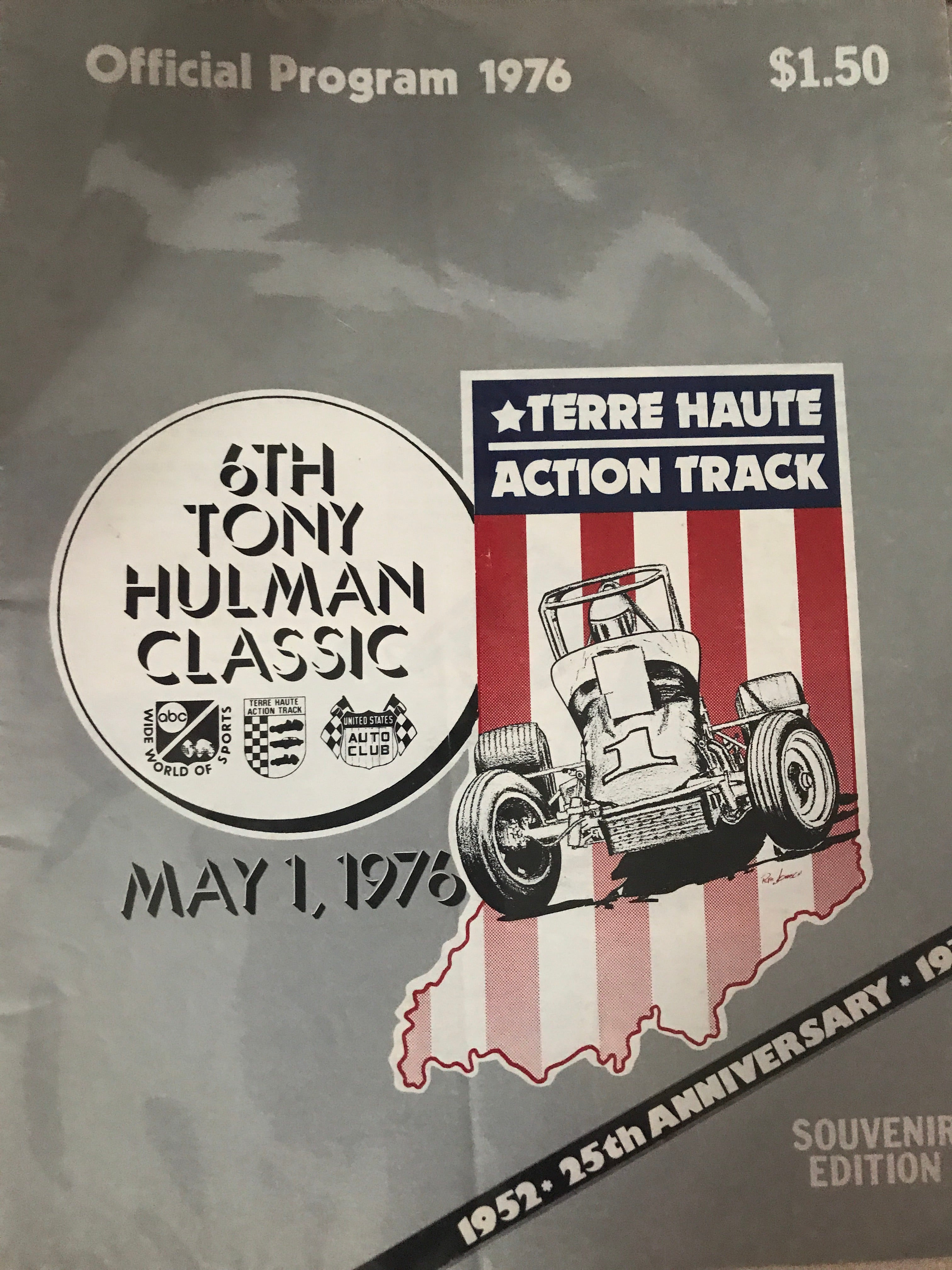 1976 Tony Hulman Classic Race Program