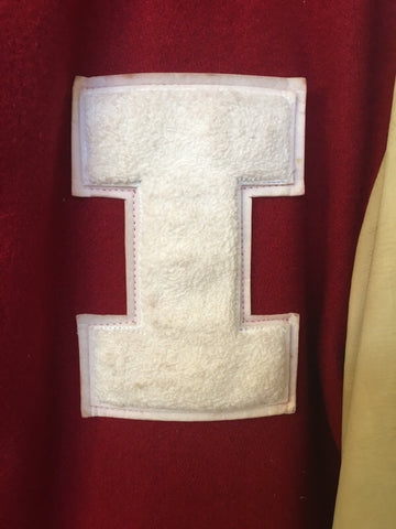 1980's Indiana University Basketball Player Letter Jacket