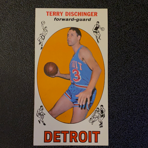 1969 Topps Terry Dischinger Basketball Card #33