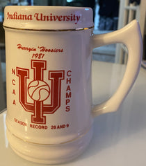 1981 Indiana University NCAA Basketball Champs Stein