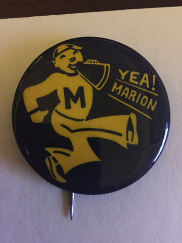 1940s-50s Marion High School Pinback Button