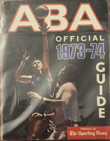 1973-74 ABA Basketball Sporting News Guide