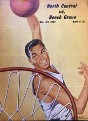 1957 Beech Grove vs Indianapolis North Central HS Basketball Game