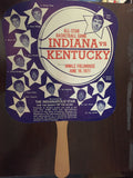 1971 Indiana vs Kentucky High School Basketball All Star Game Fan - Vintage Indy Sports
