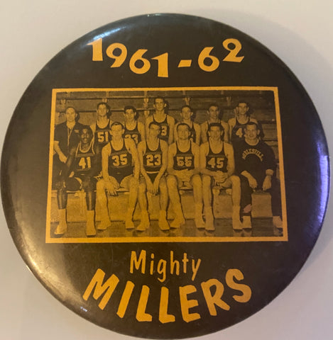 1961-62 Noblesville, Indiana High School Basketball Pinback Button