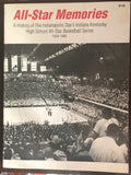 All Star Memories Oversized Paperback Book, Indiana Kentucky High School Basketball - Vintage Indy Sports