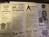 1966 Washington vs Purdue Basketball Scorecard - Vintage Indy Sports