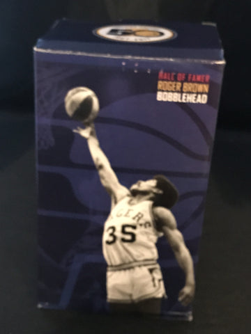 Roger Brown Indiana Pacers SGA Bobblehead, New in Box!