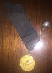 1926 Indiana High School Basketball State Championship Medal, Marion - Vintage Indy Sports
