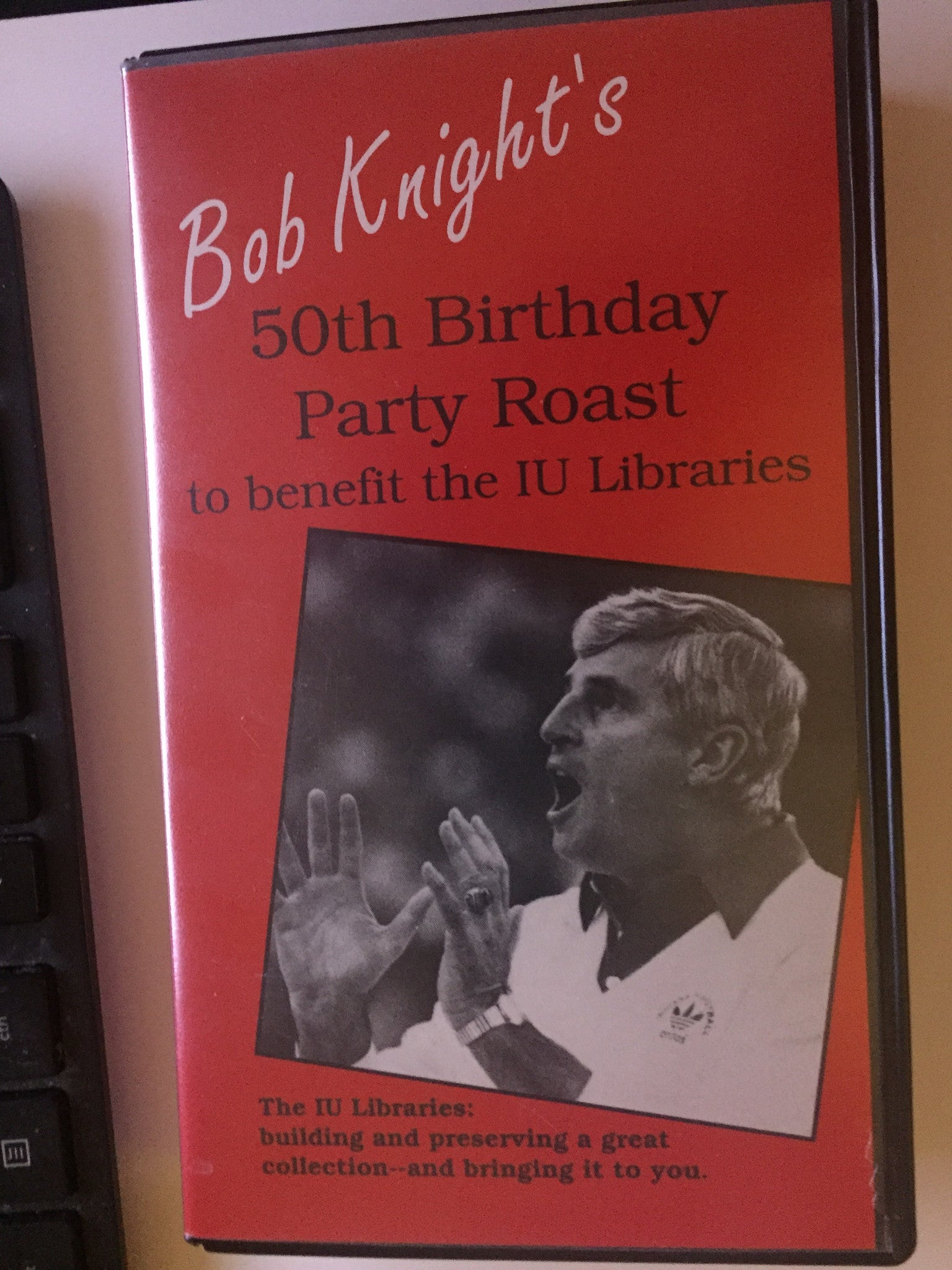 Bob Knight's 50th Birthday Party Roast VHS Video - Vintage Indy Sports