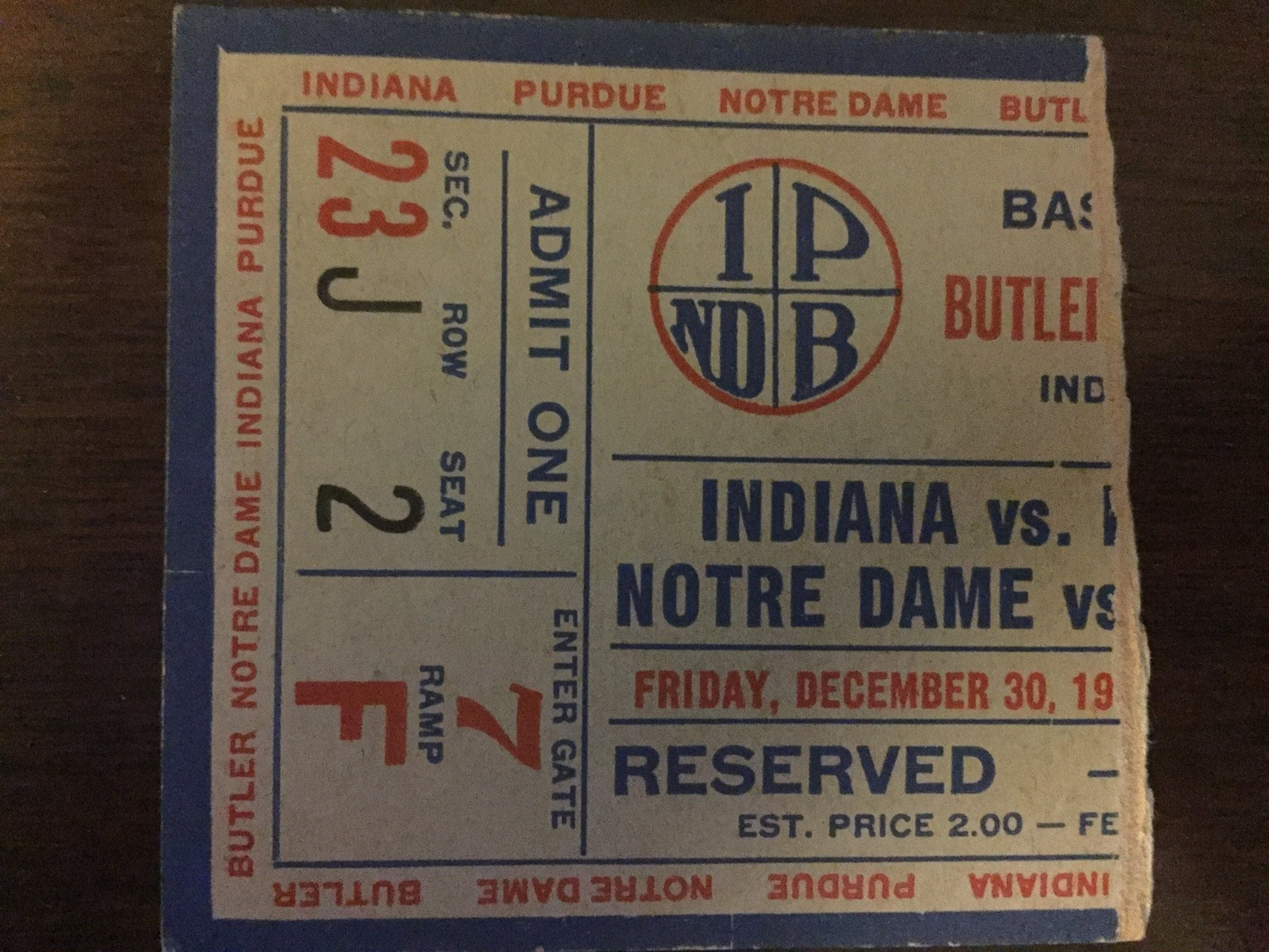 ticket stub image