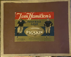 Vintage 1930's Tom Hamilton's Football Game Pigskin Board Game