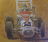 1974 Hoosier Hundred Race Program