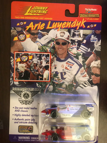 Arie Luyendyk Indy 500 Winner Johnny Lightning Diecast 2 Pack 1:64