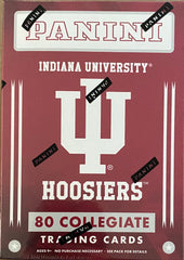 2016 Indiana University Panini Blaster Box Trading Cards, Football, Basketball