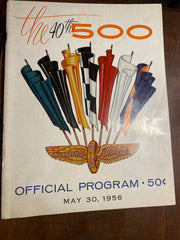 1956 Indianapolis 500 Race Program