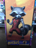 Indianapolis Indians Rocket Raccoon Guardians of the Galaxy Bobblehead