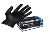 BodyGuard Black Nitrile Gloves - box of 100 Gloves