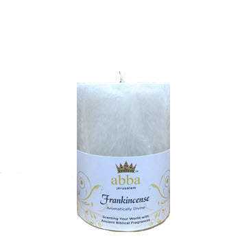 Candle - Pillar Candle Frankincense  3 x 4