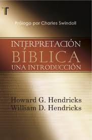 Interpretacion Biblica Una Introduccion