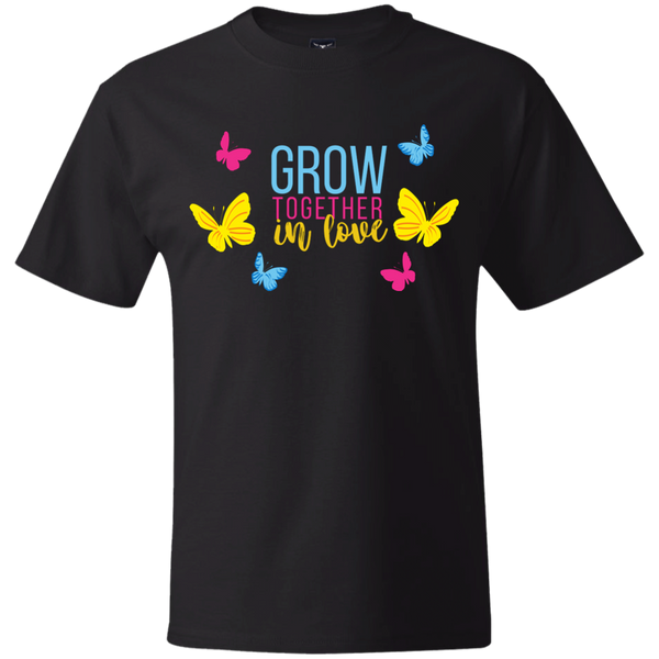 Grow Love English Hanes Beefy T-Shirt
