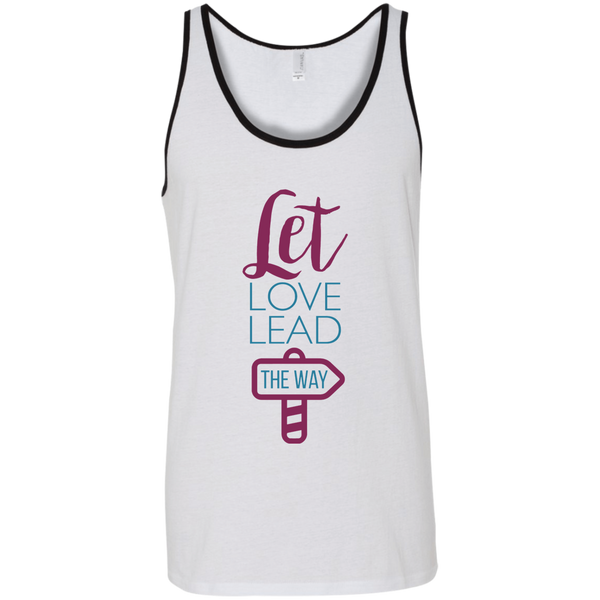 Lead with Love Bella + Canvas Unisex Tank