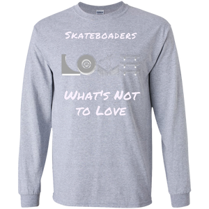 Skateboarding LS Cotton T-Shirt