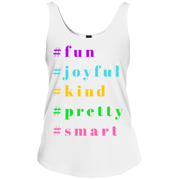 Junior Fit Cotton Summer Fun Tank Top