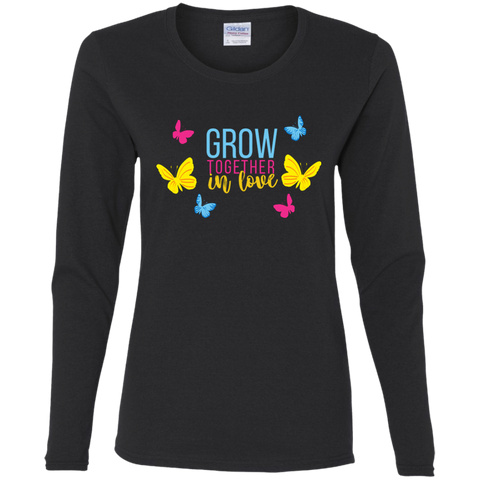 Grow Love Ladies' Cotton LS T-Shirt