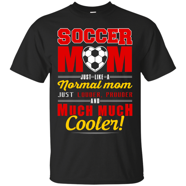 Cool Soccer Mom Cotton T-Shirt