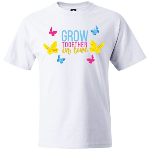 Grow Love Hanes Beefy T-Shirt